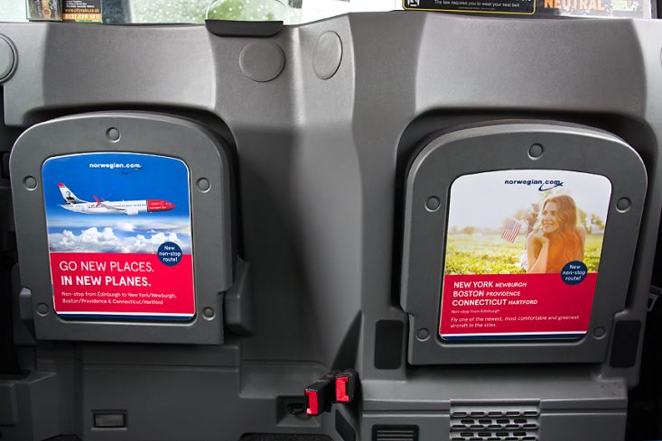 2017 Ubiquitous campaign for Edinburgh Airport - Norwegian Air