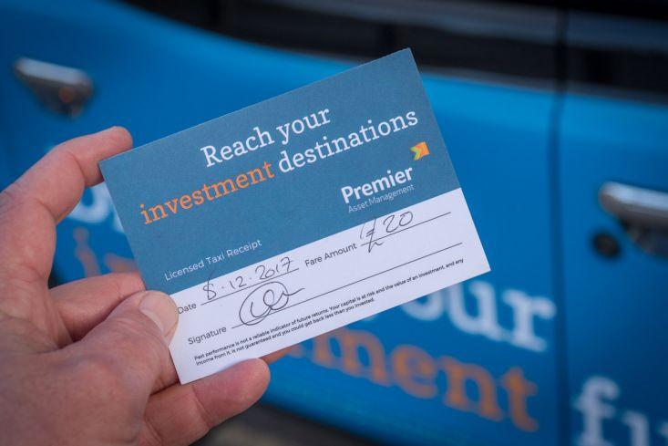 2017 Ubiquitous campaign for Premier Asset Management - Driving Your Investment Future