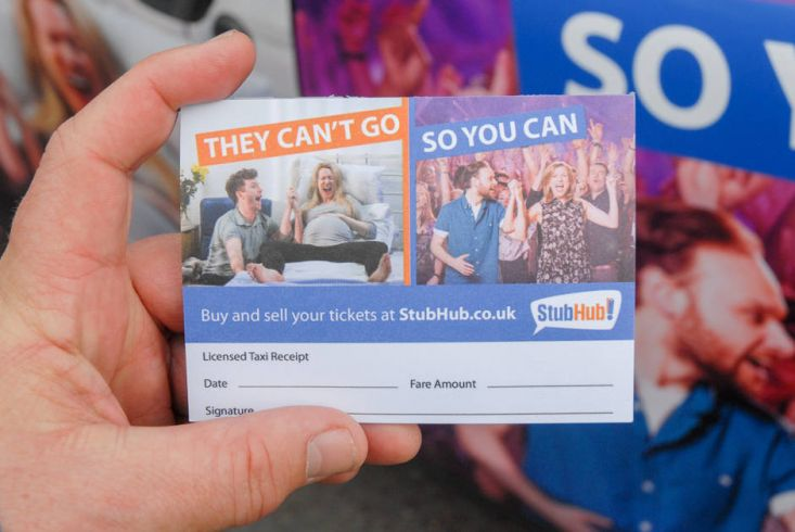2015 Ubiquitous campaign for Stubhub - They Can't Go; So You Can!
