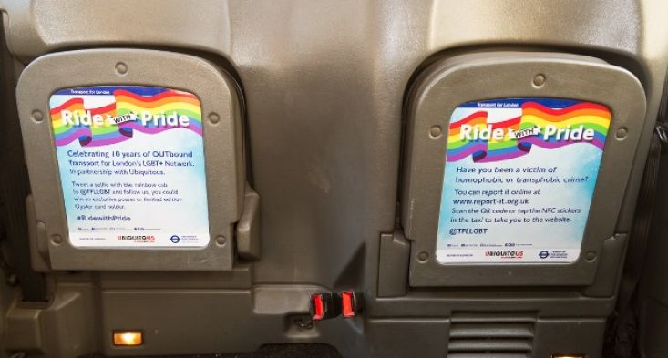 2015 Ubiquitous campaign for Transport for London - IDAHOT - Ride with Pride