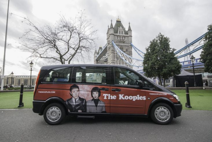 2015 Ubiquitous campaign for The Kooples - TheKooples.Com