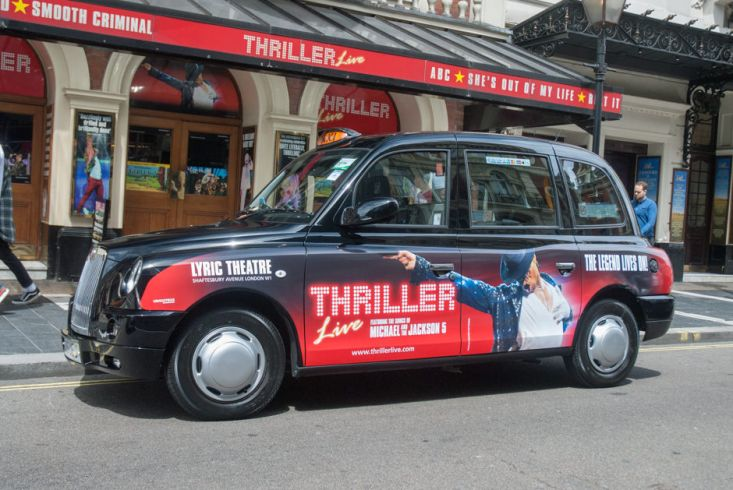 2016 Ubiquitous campaign for Thriller - The Legend Lives On!