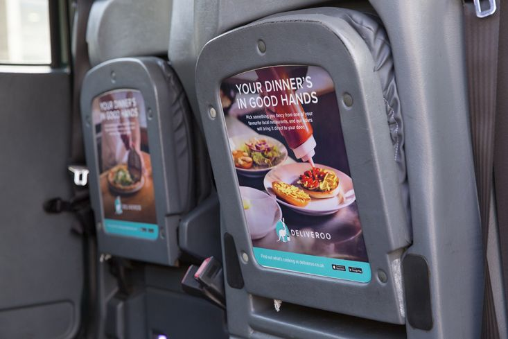 2016 Ubiquitous campaign for Deliveroo - PROPER FOOD, PROPER DELIVERY