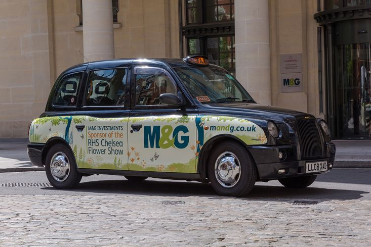 2016 Ubiquitous campaign for M&G - SPONSOR OF THE RHS CHELSEA FLOWER SHOW