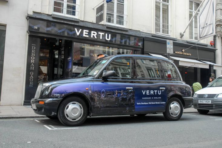 2014 Ubiquitous campaign for Vertu - Handmade in England