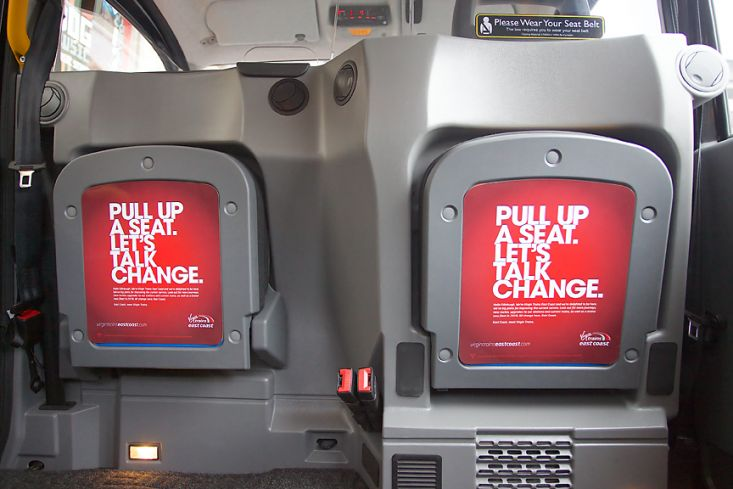 2015 Ubiquitous campaign for Virgin Trains East Coast - Meet Virgin Trains