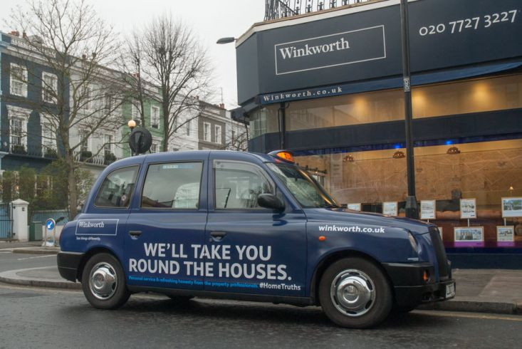 2017 Ubiquitous campaign for Winkworth - We'll take you round the houses