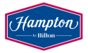 Ubiquitous Taxi Advertising client Hampton By Hilton  logo