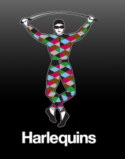 Ubiquitous Taxi Advertising client Harlequin  logo