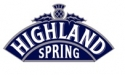Ubiquitous Taxi Advertising client Highland Spring  logo