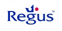 Ubiquitous Taxi Advertising client Regus  logo