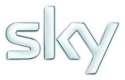 Ubiquitous Taxi Advertising client Sky  logo
