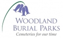 Ubiquitous Taxi Advertising client Woodland Burial Park  logo