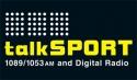 Ubiquitous Taxis client Talksport  logo