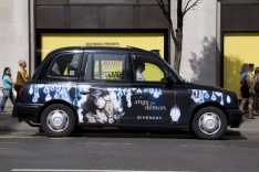 2006 Ubiquitous taxi advertising campaign for Givenchy - Ange Ou Demon