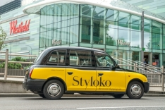 2013 Ubiquitous taxi advertising campaign for Styloko - The Social Shopping Site