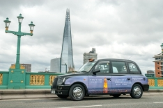 2013 Ubiquitous taxi advertising campaign for The View from The Shard - London's highest and best view