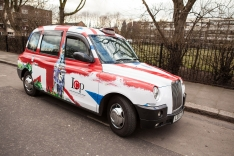 2013 Ubiquitous taxi advertising campaign for London Central Portfolio Ltd - Lcp