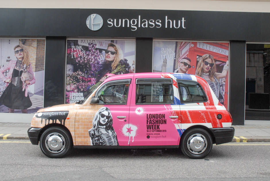 2015 Ubiquitous campaign for Sunglass Hut - London Fashion Week