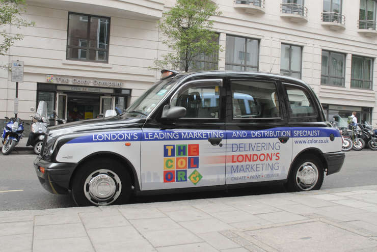 2014 Ubiquitous campaign for The Color Company - Delivering London's Marketing