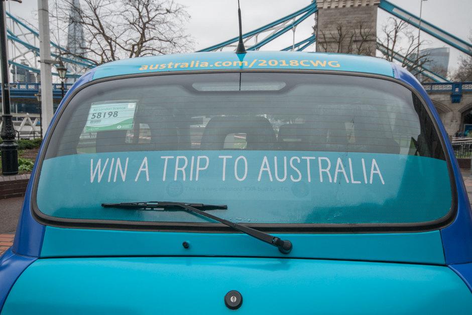 2017 Ubiquitous campaign for Tourism Australia - Swap The Cold For Gold!