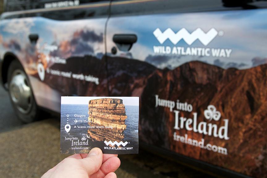 2017 Ubiquitous campaign for Tourism Ireland - Jump Into Ireland
