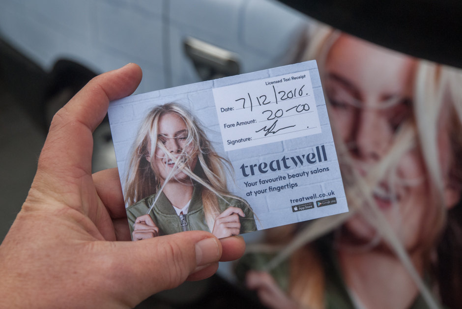 2016 Ubiquitous campaign for Treatwell  - Booked on Treatwell