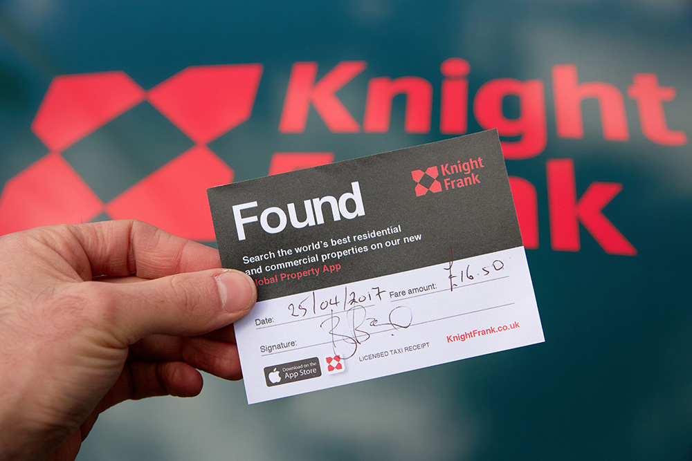 2017 Ubiquitous campaign for Knight Frank  - FOUND