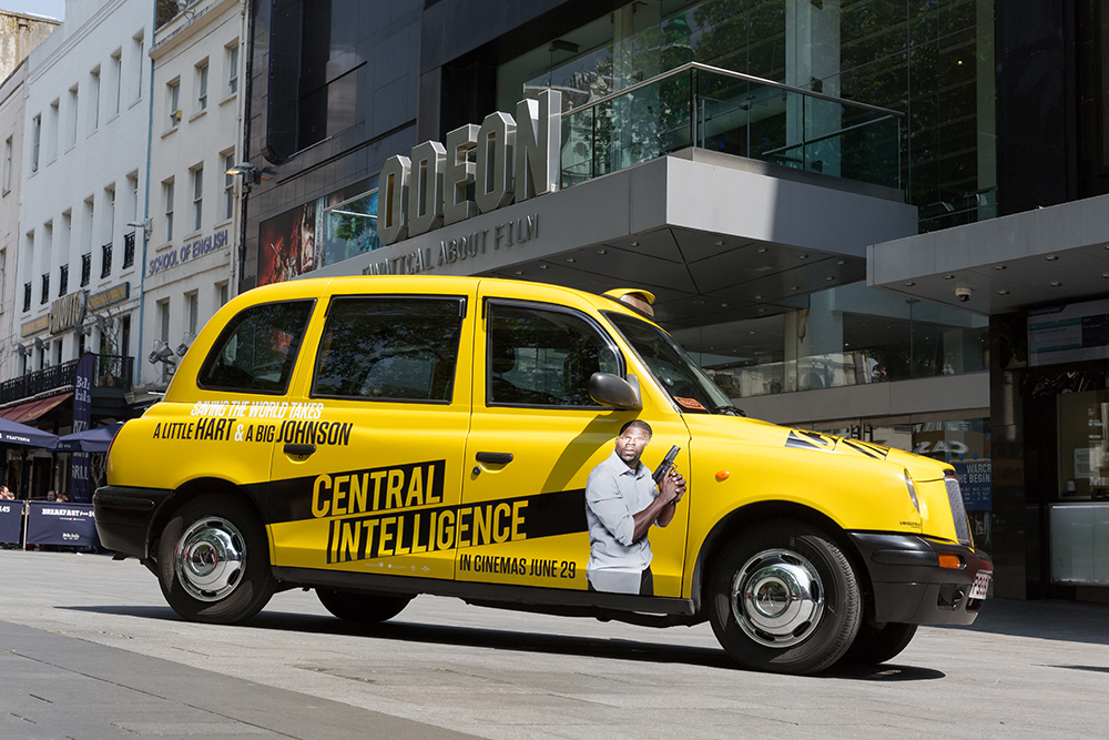 2016 Ubiquitous campaign for Universal Pictures -  CENTRAL INTELLIGENCE