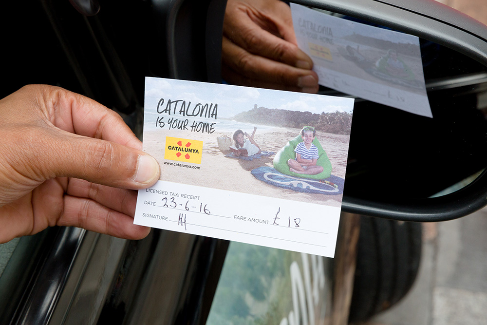 2016 Ubiquitous campaign for Catalunya - Catalonia is your home