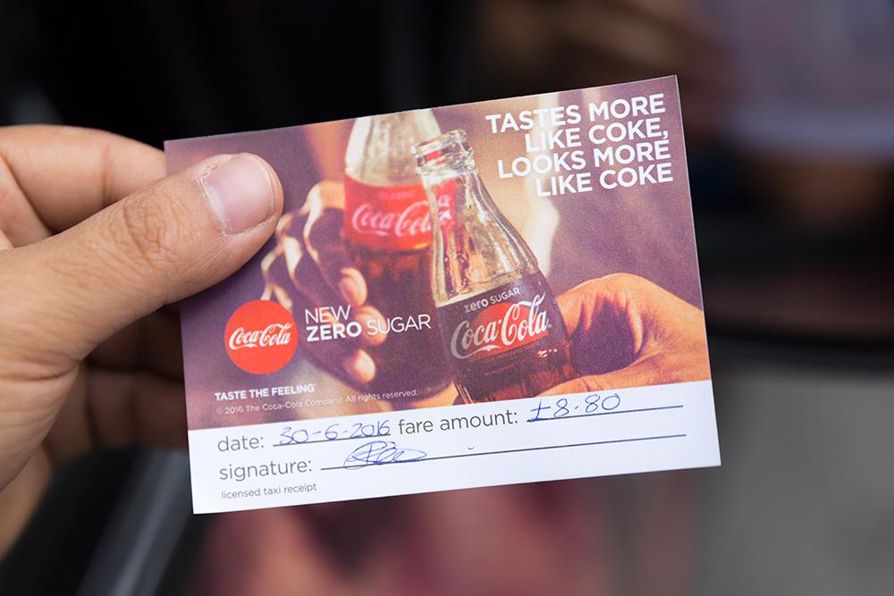 2016 Ubiquitous campaign for Coca-Cola - Taste the feeling