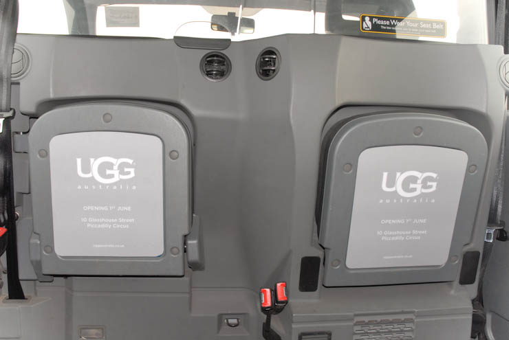 2012 Ubiquitous taxi advertising campaign for UGG - UGG Australia