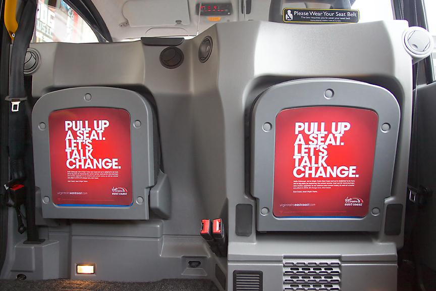 2015 Ubiquitous campaign for Virgin Trains East Coast - Meet Virgin Trains