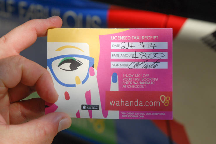 2014 Ubiquitous campaign for Wahanda - Book Yourself Fabulous